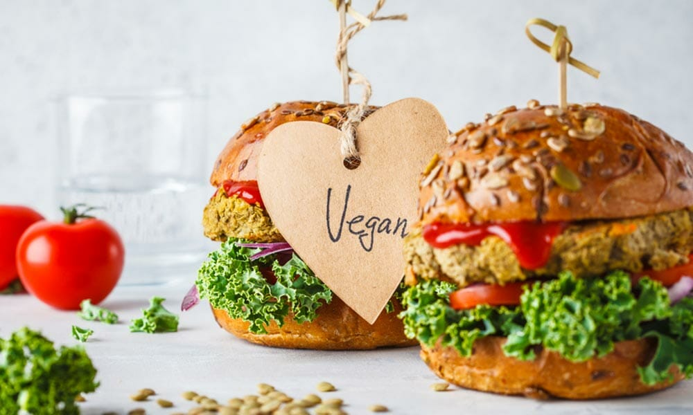 tasty vegan burgers